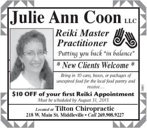 Julie Coon 8.2.15